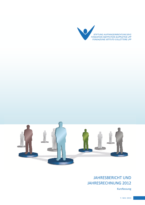 Jahresbericht 2012 Kurzfassung