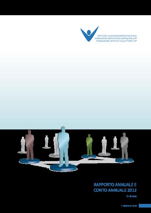 Rapporto annuale 2012 breve