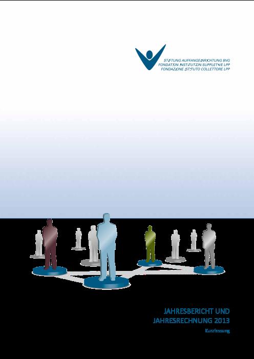 Jahresbericht 2013 Kurzfassung
