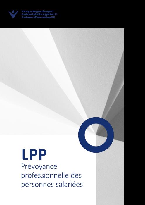 Brochure d'information LPP salariés