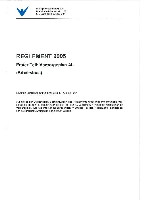 Plan AL 2005