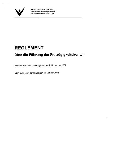 FZK-Reglement 2007