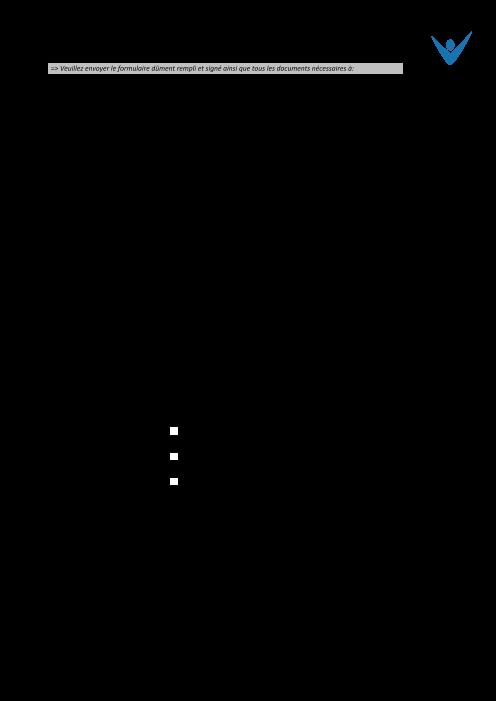 Modification de la répartition des cotisations